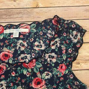 LC Lauren Conrad Tops - Lauren Conrad Floral Top, Size Small